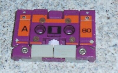 AU63.64 • Buy Transformers G1 BEASTBOX Cassette Generations One 1987 Vintage