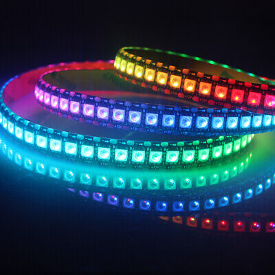 $ CDN11.34 • Buy WS2812 WS2813 WS2815 (WS2812B Updated) LED Pixel Strip Individually Addressable
