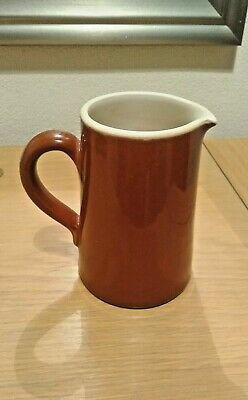 Vintage 1930'S Brown Pottery Jug, Lovatts Langley Ware England Rare Collectable • 6.99£