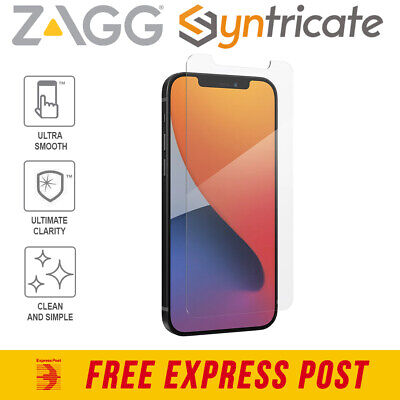 AU52.76 • Buy IPhone 12 Pro/12 ZAGG InvisibleShield Glass Elite VisionGuard+ Screen Protector