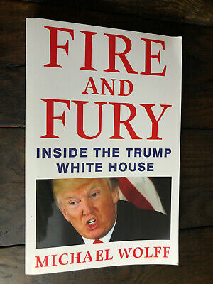 AU15 • Buy Fire And Fury Inside The Trump White House By Michael Wolff PB GC