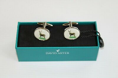 Stag Design David Aster Cufflinks New • 11.50£