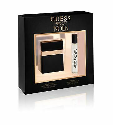 Guess Seductive Noir For Men Gift Set Eau De Toilette 50Ml And 15Ml Eau De Toile • 24.90£