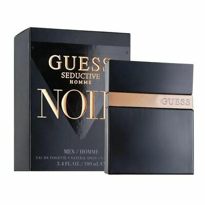 Guess Seductive Noir For Men Eau De Toilette Spray 100Ml **Brand New** • 23.90£