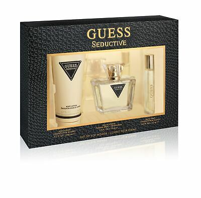 Guess Seductive Women Gift Set Eau De Toilette 75Ml And Body Lotion 200Ml **New* • 26£