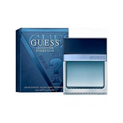Guess Seductive Bluefor Men Eau De Toilette Spray 100Ml • 22.40£