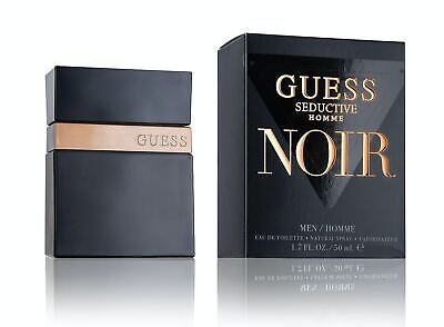 Guess Seductive Noir For Men Ip Eau De Toilette Spray 50Ml • 22.95£