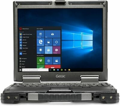 Fully Rugged Getac Toughbook 13.3  Core I7 8GB 480GB SSD Windows 7 10 Touch • 279.99£