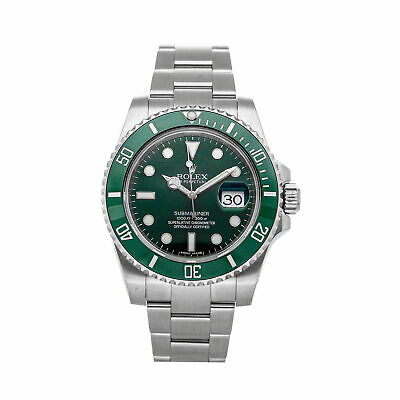 $ CDN24660.27 • Buy Rolex Submariner Date Hulk Auto 40mm Steel Mens Oyster Bracelet Watch 116610LV