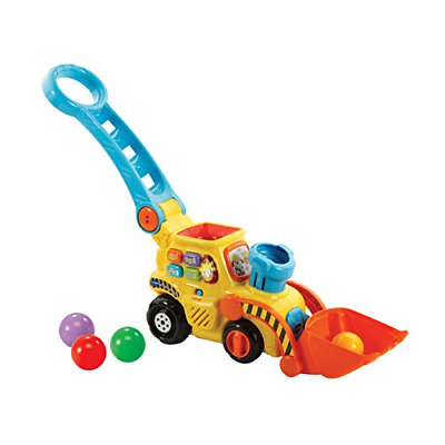 VTech POP And Drop Digger  Educational Push Along Digger For Toddler   Toy Gift • 27.89£