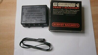 Hornby Zero1 Gauge 00 Phase 3 Accessory Display Module  R.953, UK  • 4.90£