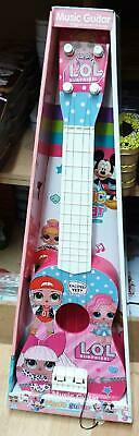Kids Girls Pink Beginners Guitar 4 String Children Music Rock Star Lol Toy 21.5  • 13.99£