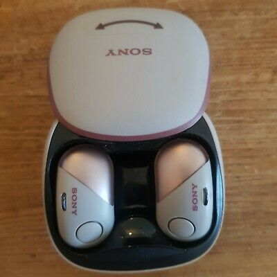 Sony Noise-Cancelling Bluetooth Wireless Headphones - Pink (WF-SP700N) New  • 79£