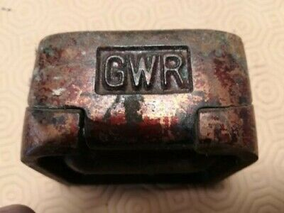 GWR Great Western Railway  Carriage Ash Tray Cast Iron Completely Original  • 4.50£