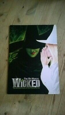 Wicked The Musical Signed London Cast Programme Kerry Ellis Ect • 29.99£