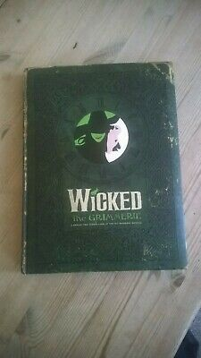 Wicked The Musical The Grimmerie Signed By Cast Members Idina Menzel Ect Mint • 99.99£