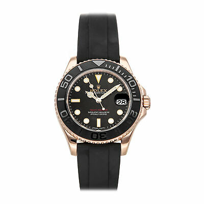 $ CDN26665.17 • Buy Rolex Yacht-Master Auto 37mm Everose Gold Mens Oysterflex Bracelet Watch 268655