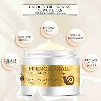 French Snail Face Cream. Hyaluronic Acid Anti Wrinkle Anti Aging Collagen Cream • 7.99£