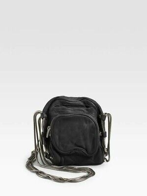 AU155 • Buy Alexander Wang Black  Super Soft Lambskin Brenda Bag.