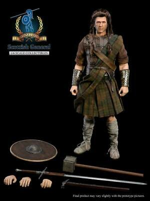 £180.07 • Buy Pangaea Toy PG05 War Painted 1:6 Scottish General William Wallace Action Figure
