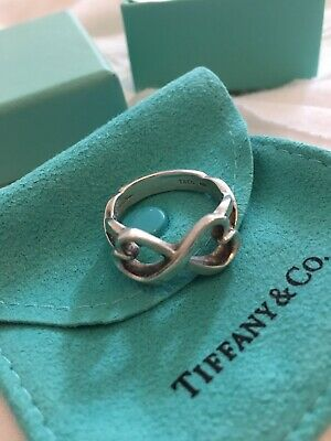 Perfecf Paloma Picasso Heart Tiffany Ring In Sterling Silver • 100£