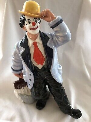ROYAL DOULTON Ornament Figurine ' Slapdash ' Clown HN2277  1st Quality • 45£