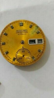 $ CDN130.34 • Buy  Orginial Seiko 6139b Movement ,with Yellow Dial ,for Parts Incomplete