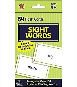 £3.45 • Buy Sight Words (Brighter Child Flash Cards)