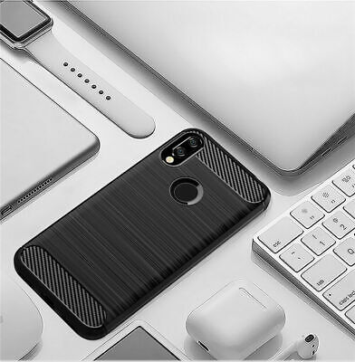 AU13.50 • Buy For HUAWEI Y9 Prime 2019  Case Cover Well Shockproof Soft Carbon
