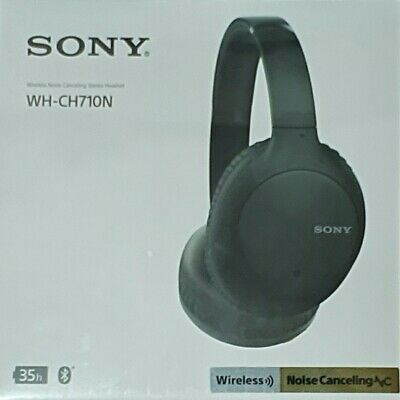 AU179 • Buy NEW Sony WHCH710NB Wireless Noise Cancelling Headphones (Black)