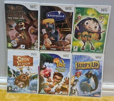 Nintendo WII - Childrens/Kids  Game Bundle! *Cleaned & Tested!* 1 DAY DISPATCH!* • 29.95£