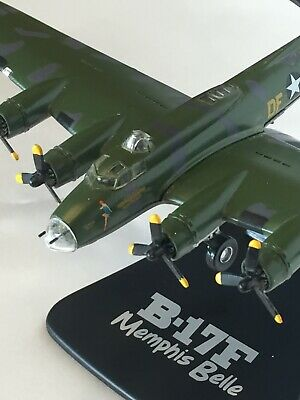 Atlas Editions B-17F Flying Fortress Memphis Belle 1/144th Scale Diecast Model • 9£