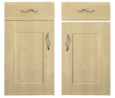 Kitchen Direct Cologne Maple SHAKER DOORS, DRAWER FRONTS Wall Larder Drawer  • 7£