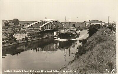 R P POSTCARD - Knutsford Road Bridge And High Level Bridge Warrington - 517 • 1.50£