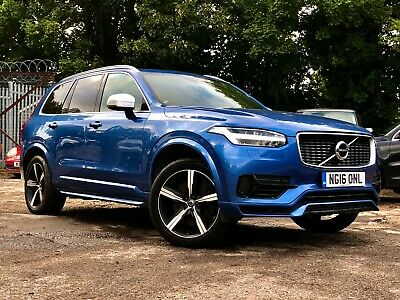 16 Volvo Xc90 T8 T/e R Design, **1 Owner, Pan Roof, Mega Options, Stunning Car** • 12,500£