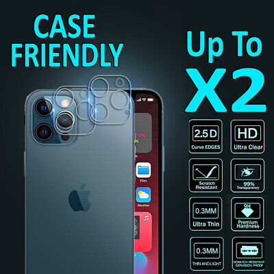 AU6.95 • Buy For Apple IPhone 12 Pro Max 12 Mini Camera Lens Tempered Glass Screen Protector