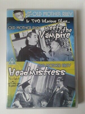 Old Mother Riley Meets The Vampire/Old Mother Riley Headmistress [DVD], • 0.99£