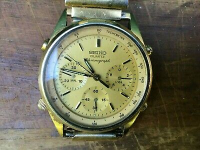 $ CDN35.68 • Buy Vintage Seiko Men's Wristwatch Chronograph