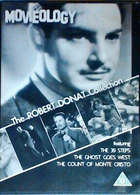 £35.40 • Buy The Robert Donat Collection (The Count O DVD