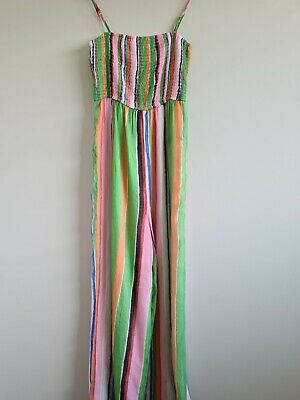 AU29 • Buy Urban Outfitters Striped Jumpsuit Size Medium