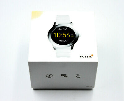 AU189.99 • Buy FOSSIL Q Founder Gen 2 Touchscreen White Band FTW2115 - Watch Aus Stock