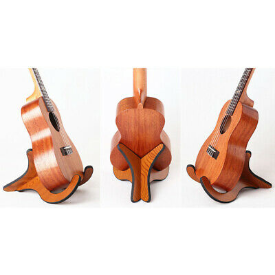 $ CDN18.77 • Buy  Ukulele Wooden Foldable Holder Stand Collapsible Vertical Guitar Display Stand