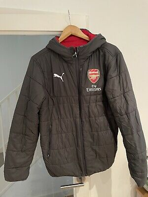 Arsenal Puma Jacket Reversible - S • 7.99£