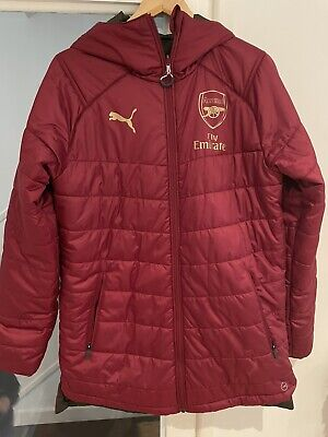 Arsenal Puma Jacket Reversible - S/M • 8.50£