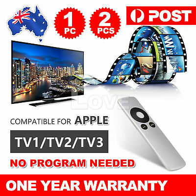 AU4.95 • Buy Universal Replacement Infrared Remote Control Compatible For Apple TV1 TV2 TV3