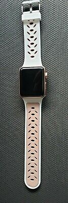 $ CDN120.25 • Buy Apple Watch Series 3 (GPS + Cellular) 38mm - Rose Gold With Pink Sand Sport Band