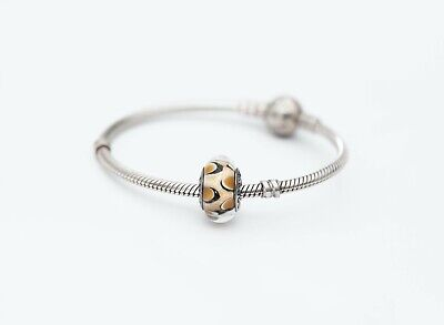 AU16.50 • Buy Pandora Charm Brown Leopard In Murano Glass And 925 ALE Silver