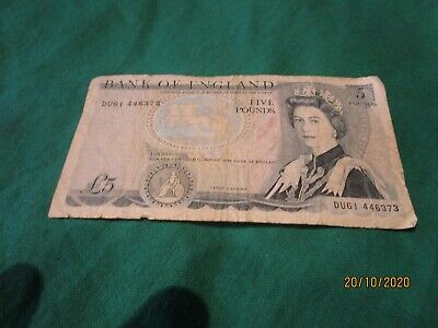 Banknote Bank Of England Five Pound Note £5 Rare Error No Signature  • 49.99£