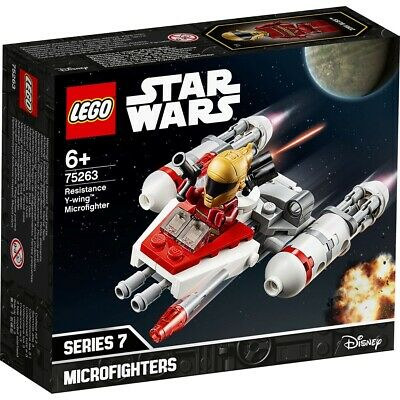 AU14.99 • Buy LEGO 75263 Star Wars Y-Wing Starfighter Microfighter New Sealed Building Model