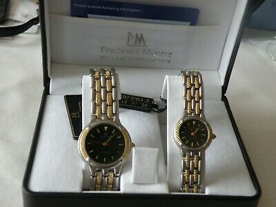 His&hers Gold-plated Precieuse Montre Watches • 14.99£